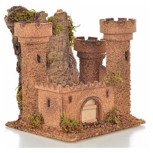 Castillo miniatura belén napolitano 14.5x13.5x15 cm. 2