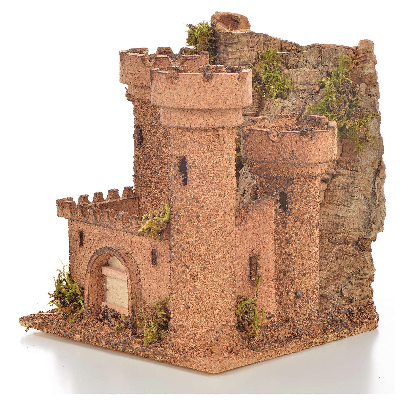 Castello mini presepe napoletano 14,5x13,5x h. 15 4