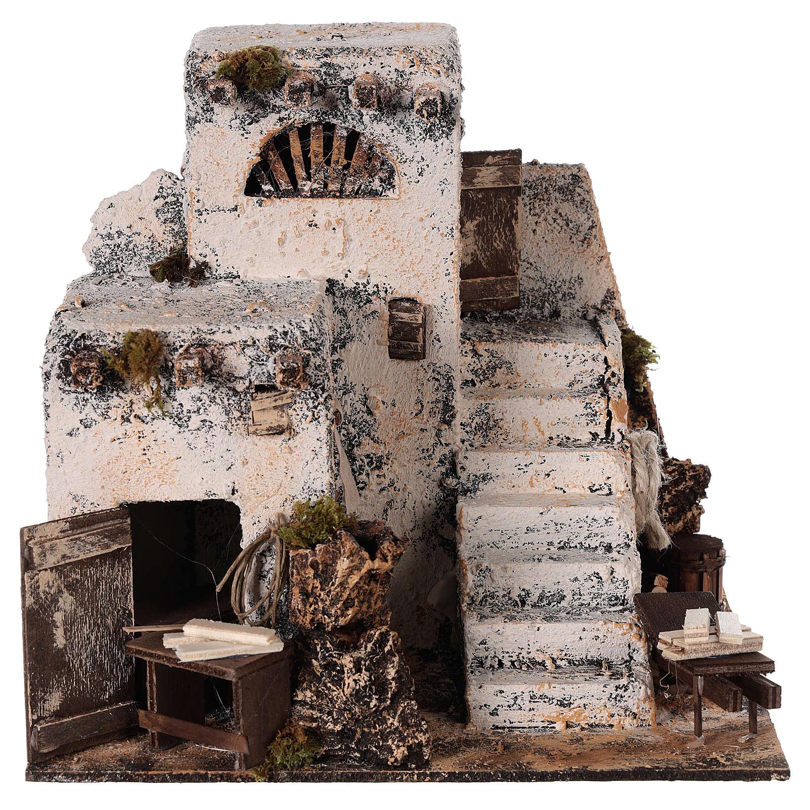 Casa árabe 26x22x22 cm. belén napolitano 4