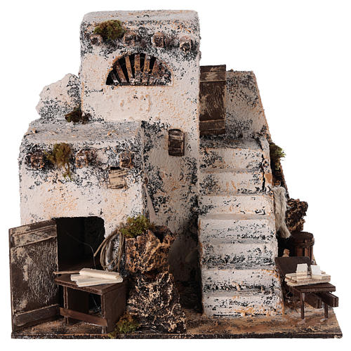 Casa árabe 26x22x22 cm. belén napolitano 1