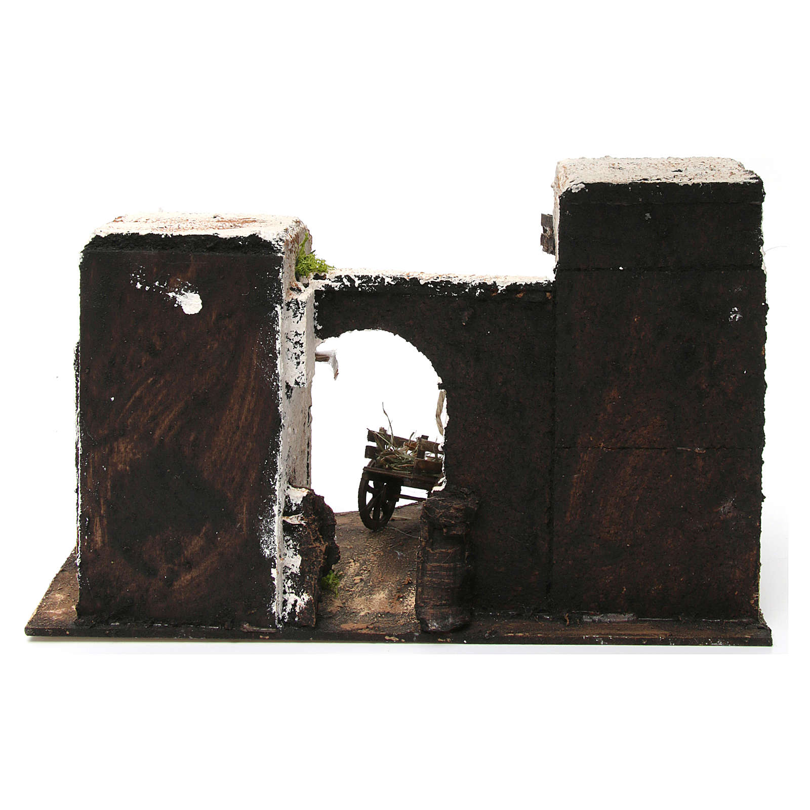 Maison arabe en miniature 33x22x21,5 cm crèche Napolitaine 4