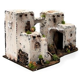 Maison arabe en miniature 33x22x21,5 cm crèche Napolitaine s3