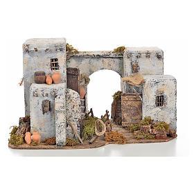 Neapolitan Nativity scene accessory, Arabian house 33x22x21,5cm s1