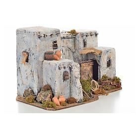 Neapolitan Nativity scene accessory, Arabian house 33x22x21,5cm s2