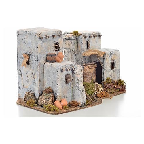 Neapolitan Nativity scene accessory, Arabian house 33x22x21,5cm 2