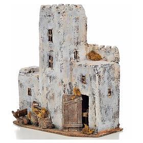 Maison palestinienne en miniature crèche Napolitaine h 30 cm s3