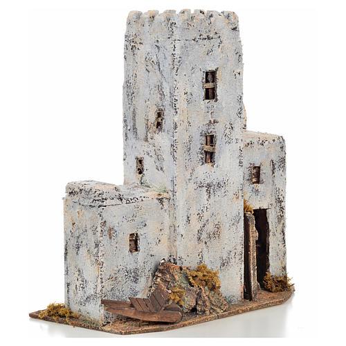 Maison palestinienne en miniature crèche Napolitaine h 30 cm 2