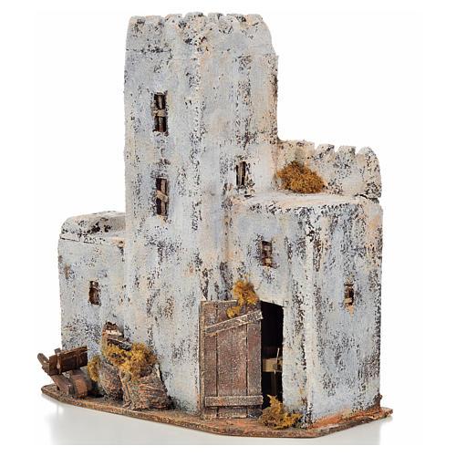 Maison palestinienne en miniature crèche Napolitaine h 30 cm 3
