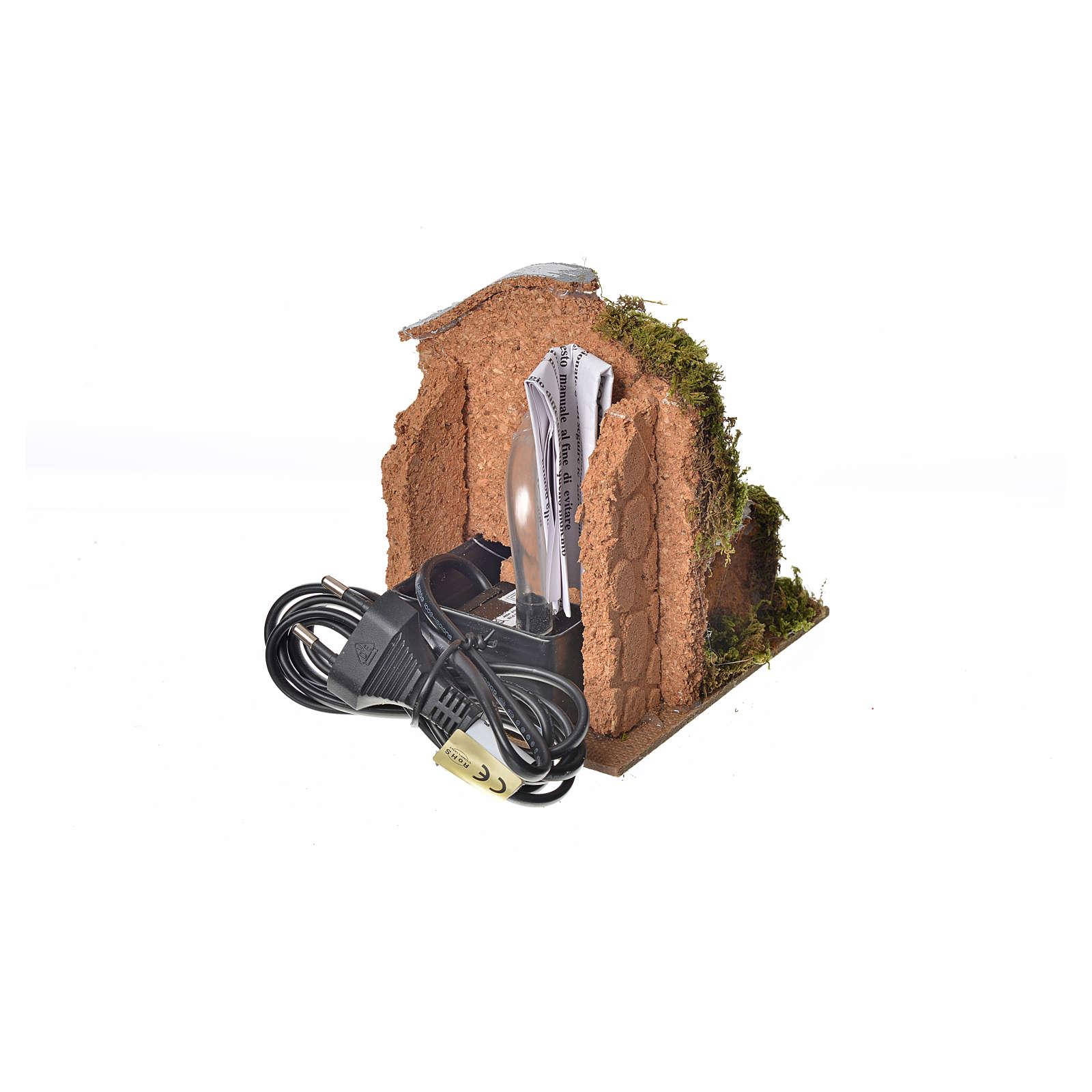 Fontana con pompa riciclo 13x10x13 4