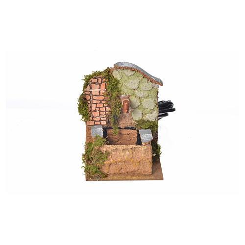 Fontana con pompa riciclo 13x10x13 1