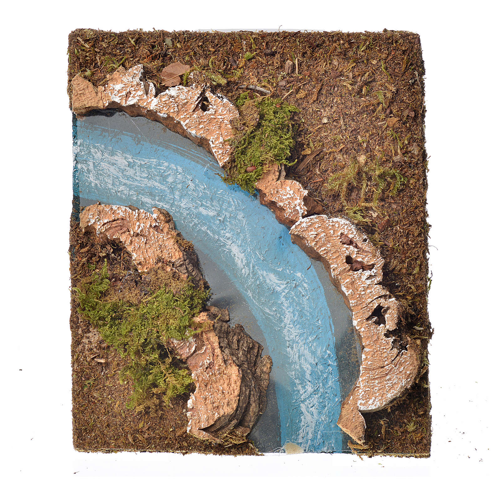 Río componible corcho: curva izquierda 4
