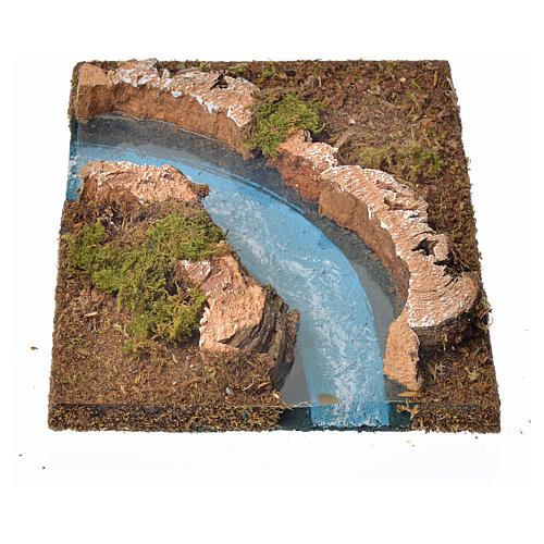 Río componible corcho: curva izquierda 2