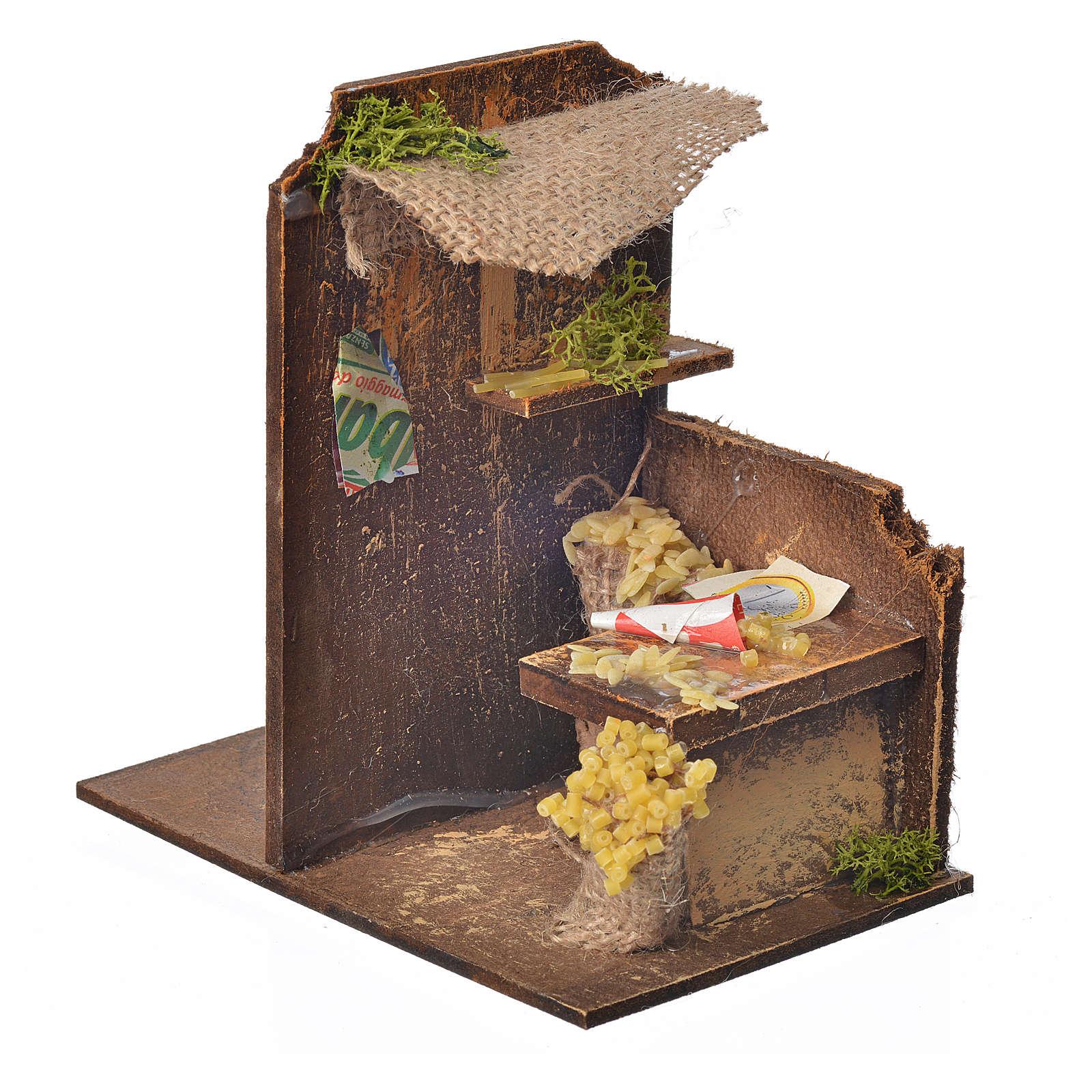 Décor crèche atelier pâte 15x9,5x9,5cm 4