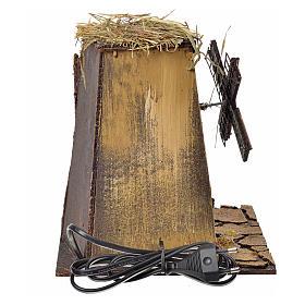 Neapolitan Nativity wind mill 23x17x11cm s4