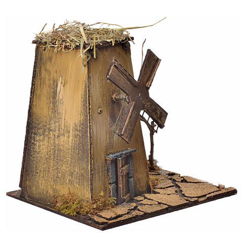 Neapolitan Nativity wind mill 23x17x11cm 3