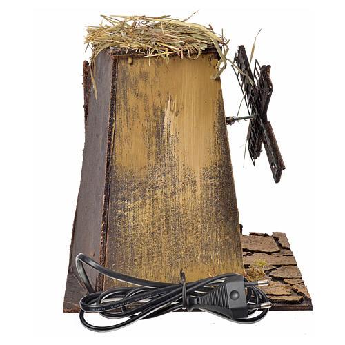 Neapolitan Nativity wind mill 23x17x11cm 4
