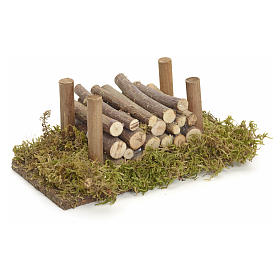 Nativity accessory, wood stack s2