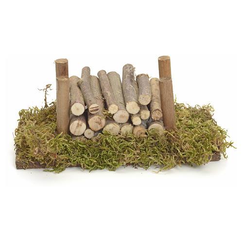 Catasta su muschio di legno 1