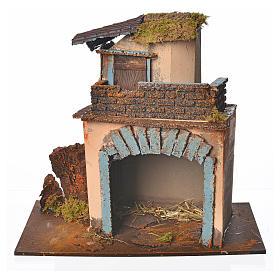 Casolare balcone arancione 28x15x27 cm s1