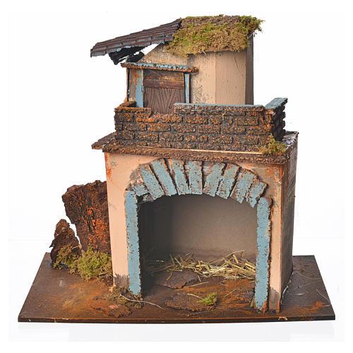 Casolare balcone arancione 28x15x27 cm 1