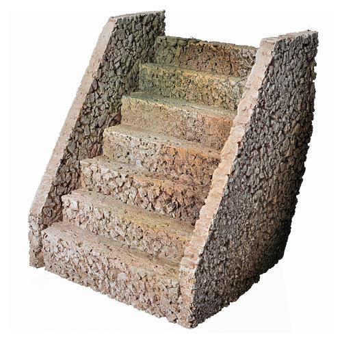 Escalier pour crèche en style arable 2