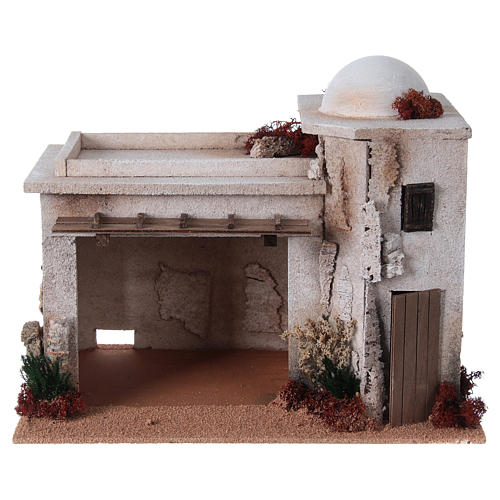 Nativity setting, empty workshop in cork 1