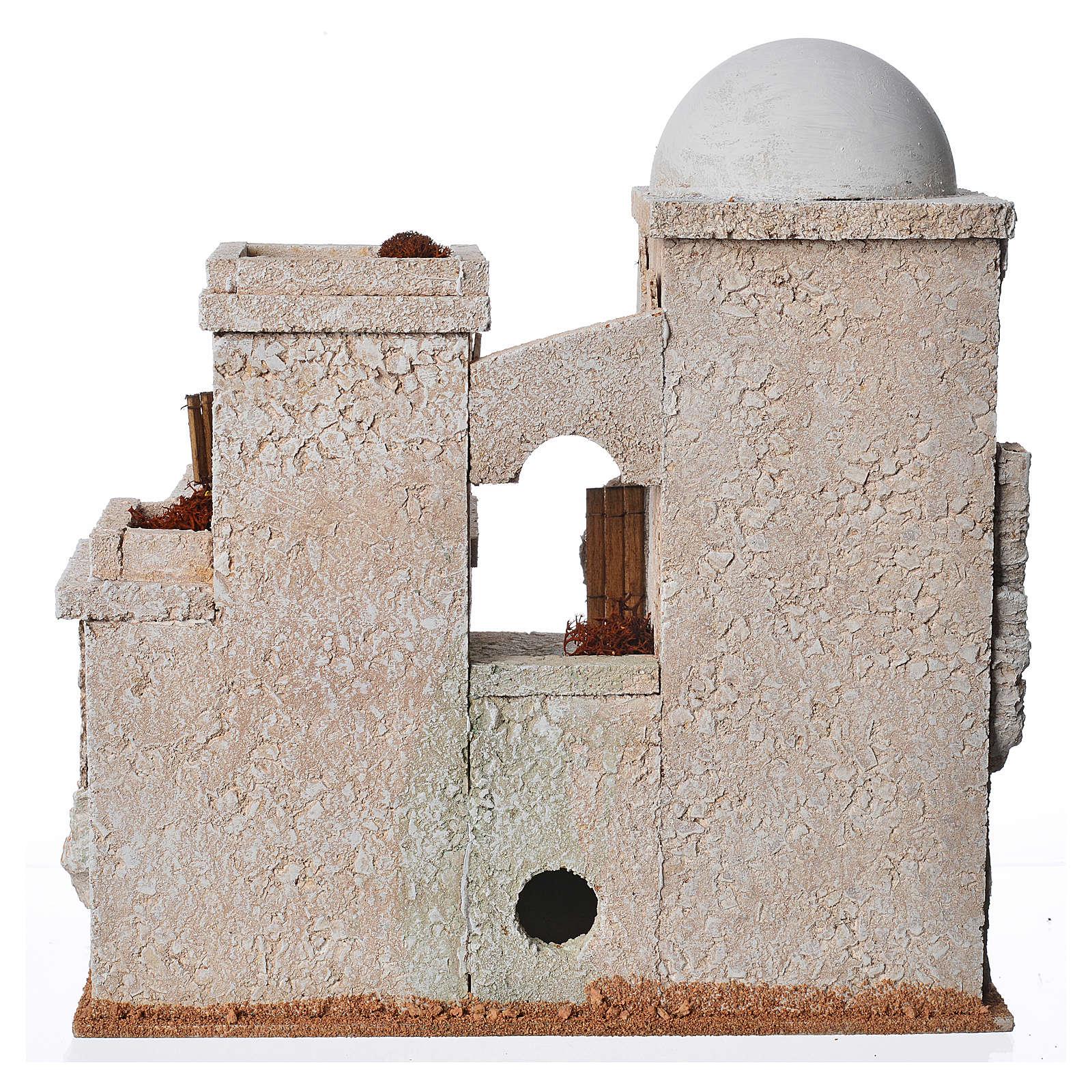 Minaret en liège pour crèche 4
