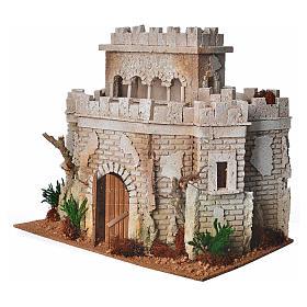 Castillo árabe para el belén en corcho s2