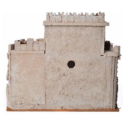 Castello arabo per presepe in sughero 4