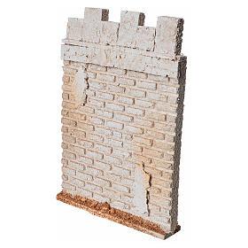 Mur d'enceinte de château en liège crèche s2