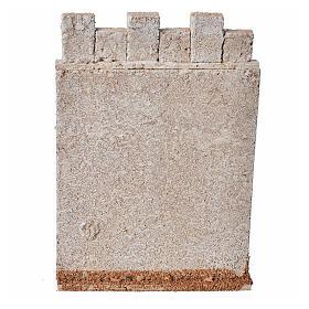 Mur d'enceinte de château en liège crèche s3