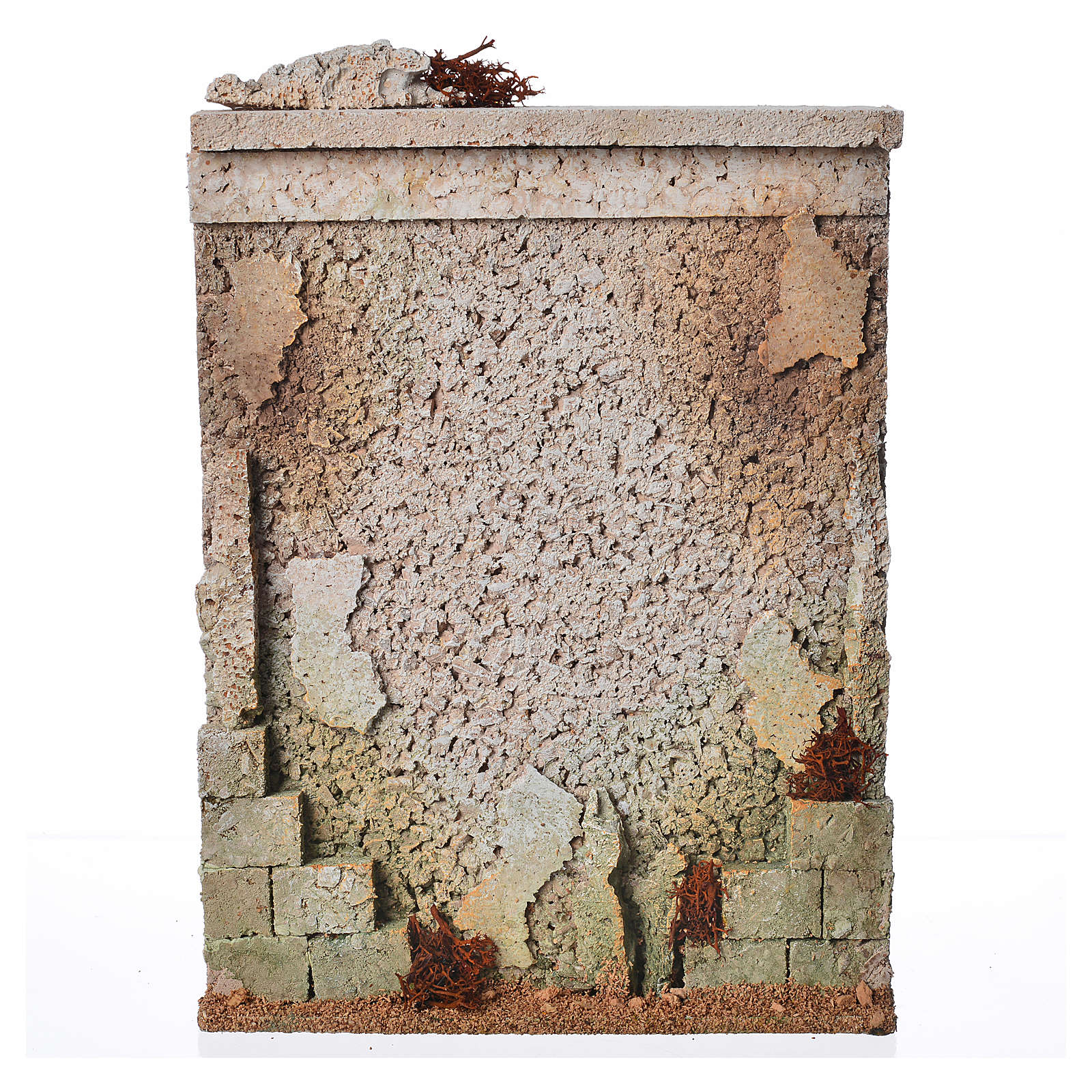 Muro di cinta presepe in sughero 4