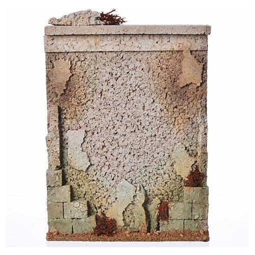 Muro di cinta presepe in sughero 1