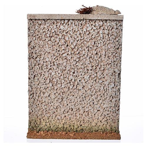 Muro di cinta presepe in sughero 3