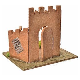 Guardie romane e porta del castello, ambientazione presepe s4