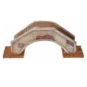 Nativity setting, bridge in terracotta 16x4x6cm s1
