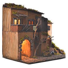 Borgo presepe napoletano stile 700 con forno s2