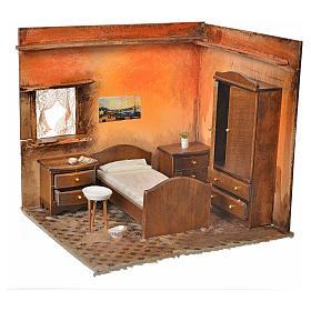 Ambiente presepe camera da letto 24X21X21 cm s1