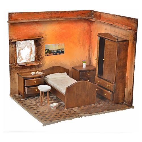 Ambiente presepe camera da letto 24X21X21 cm