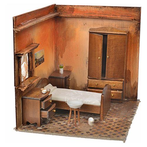 Ambiente presepe camera da letto 24X21X21 cm 2