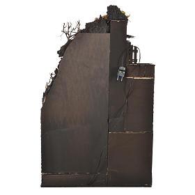 Pueblo iluminado con cueva 80x50x40 cm Belén Napolitano s4
