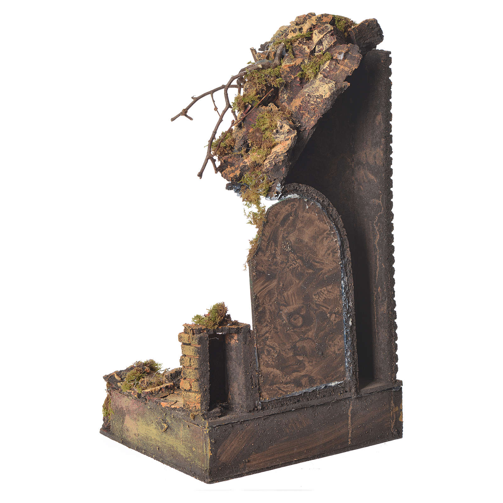 Tempio porta verde cm. 20x20x40 4