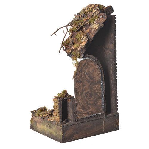 Tempio porta verde cm. 20x20x40 3