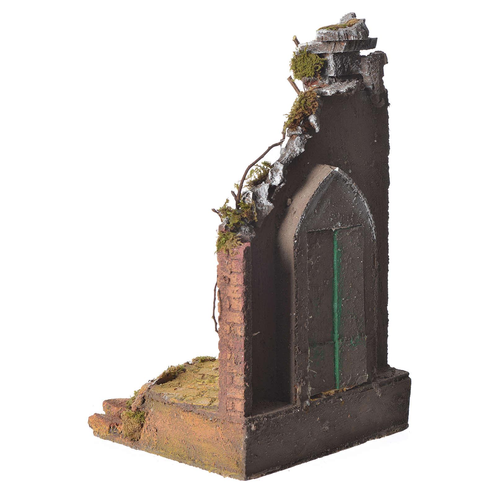 Tempio colonna cm. 20x20x40 4