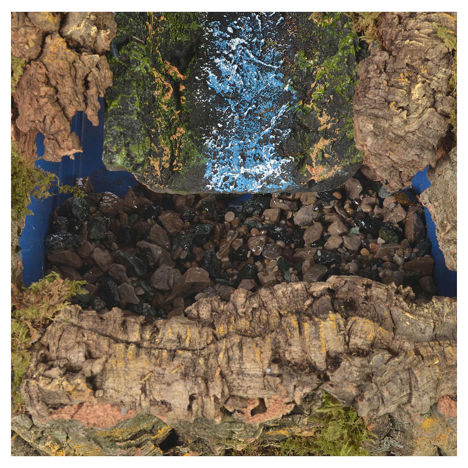 Ruisseau crèche avec pompe à eau 27x28x33 cm 4