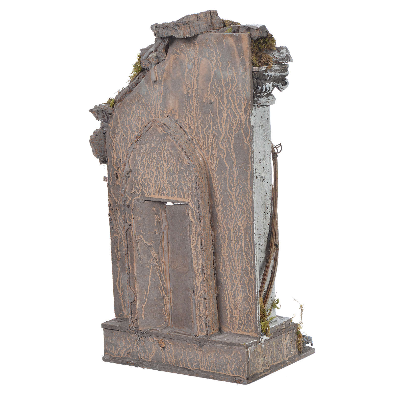 Tempio presepe 30x15x12 cm 4