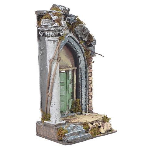 Tempio presepe 30x15x12 cm 2
