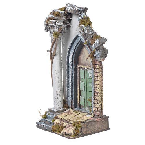 Tempio presepe 30x15x12 cm 3