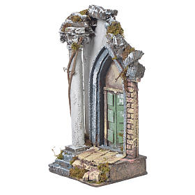 Temple for nativities, 30x15x12cm s3