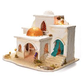 Village arabe pour crèche 37x20x50 cm s3